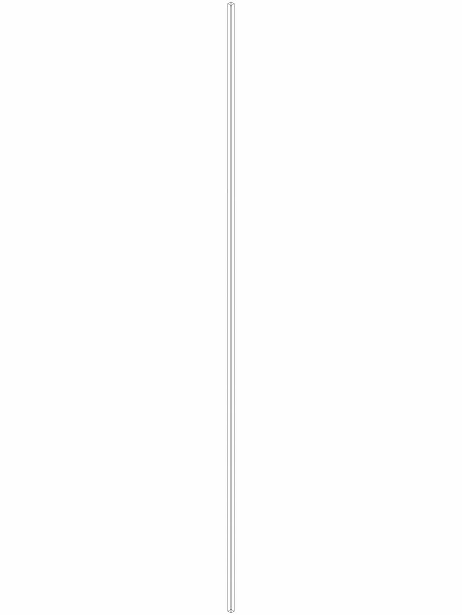 Pagina 1 - CAD-DWG Bara suport Geberit Pluvia cod 362.863.26.1_P GEBERIT Detaliu de produs