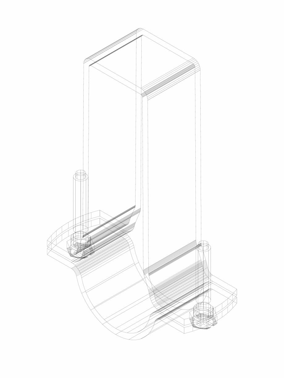 Pagina 1 - CAD-DWG Bratara pentru teava Geberit Pluvia cod 360.861.00.1_P GEBERIT Detaliu de produs