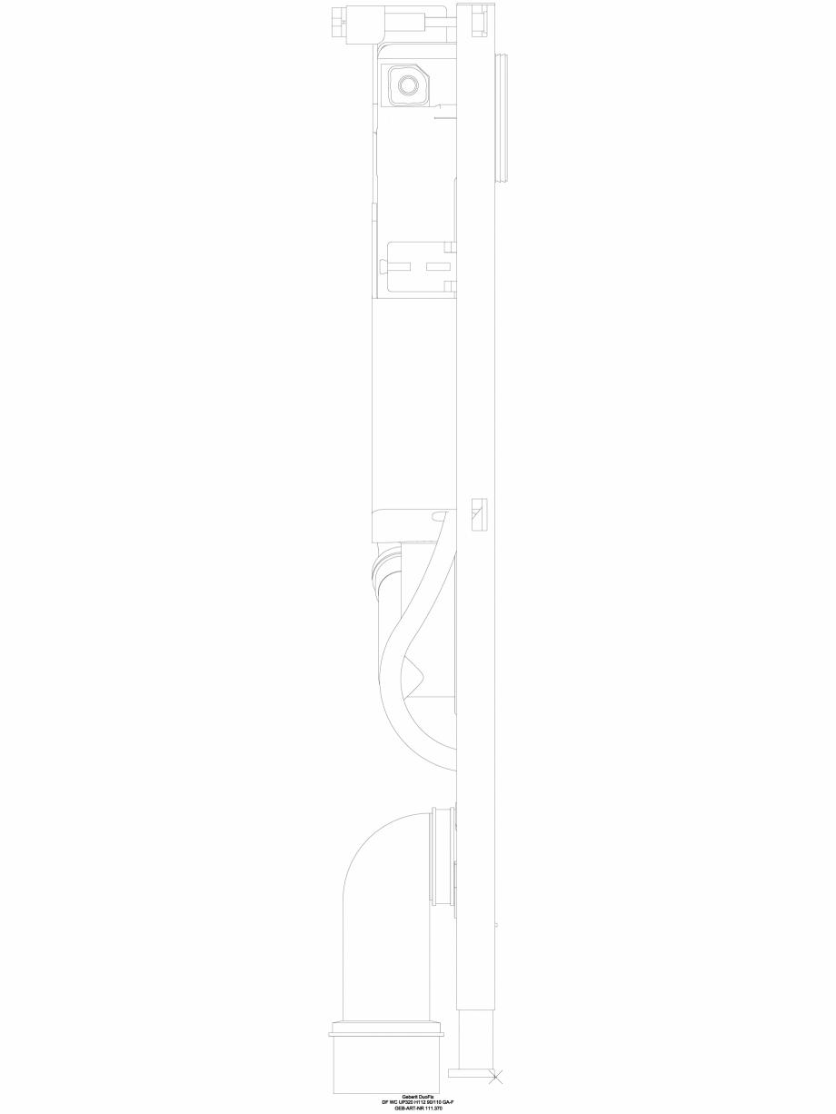 Pagina 1 - CAD-DWG Sistem DuoFresh cu unitate de exhaustare a mirosurilor - vedere din lateral...