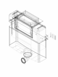 Rezervor incastrat Geberit Omega 12 cm 6 3 litri inaltime de montare 82 cm cod 109