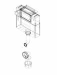 Rezervor incastrat Geberit Omega 12 cm 6 3 litri inaltime de montare 98 cm cod 109