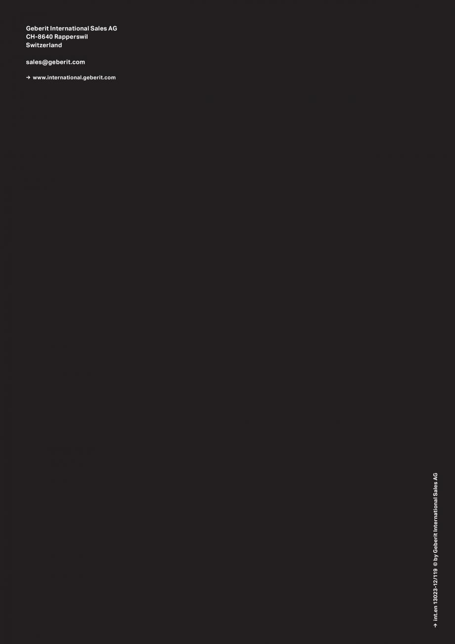 Pagina 17 - Gama de produse pentru spatii publice GEBERIT Omega, Duofix,  Sigma 8, Delta, Sigma 12  ...
