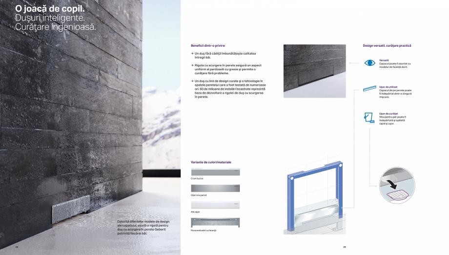 Pagina 15 - Design inteligent pentru baie GEBERIT Omega, Duofix,  Sigma 8, Delta, Sigma 12  Catalog,...