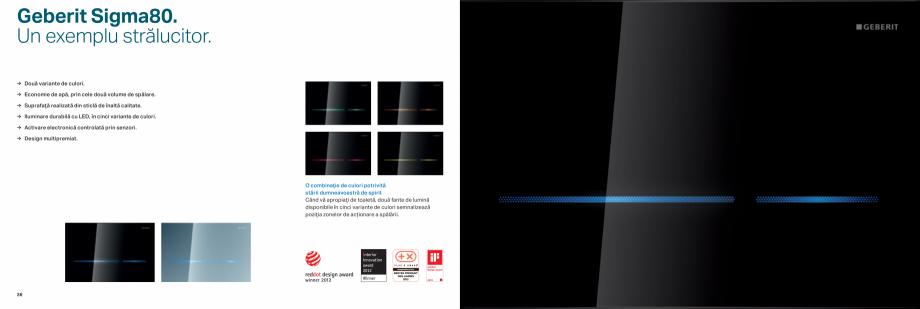 Pagina 19 - Clapete de actionare pentru WC GEBERIT Omega, Duofix,  Sigma 8, Delta, Sigma 12  Catalog...