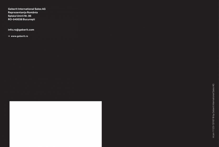 Pagina 27 - Clapete de actionare pentru WC GEBERIT Omega, Duofix,  Sigma 8, Delta, Sigma 12  Catalog...
