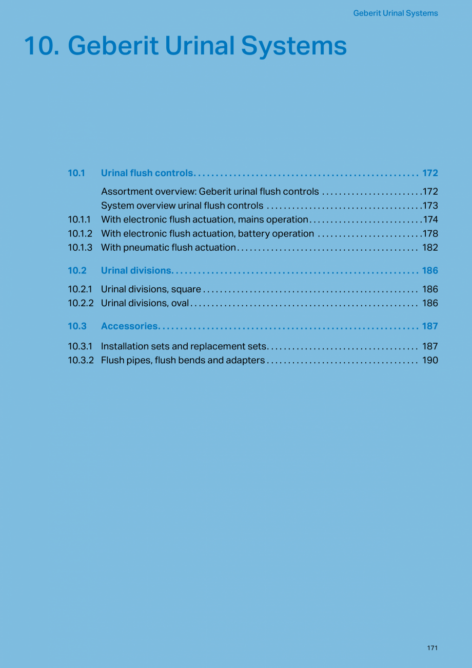 Pagina 171 - Sisteme sanitare 2015-2016 GEBERIT Delta, Sigma 12 , Omega, Duofix,  Sigma 8 Catalog,...