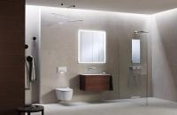 Rezervoare incastrate pentru vase WC Rezervoarele incastrate Geberit sunt disponibile in dimensiuni constructive diferite, potrivite pentru orice situatie de montaj.