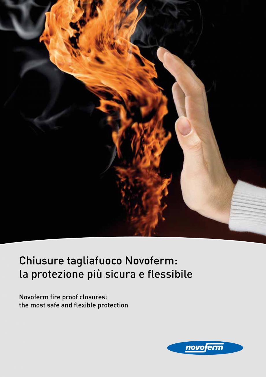 Pagina 1 - Catalog pentru usi rezistente la foc  NOVOFERM metalice Catalog, brosura Italiana...