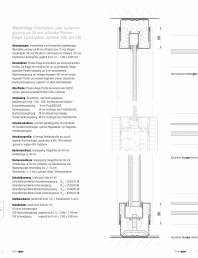 Detaliile tehnice - compartimentare birouri cu pereti si usi din sticla