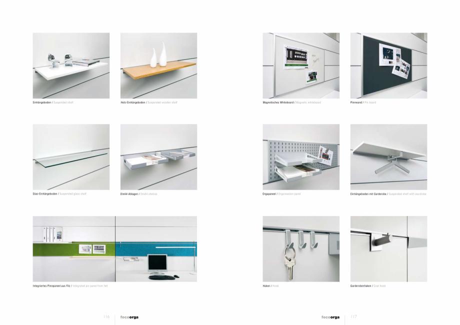 Pagina 3 - Prezentarea compartimentarii biroului cu pereti din sticla FECO FecoOrga Catalog, brosura...