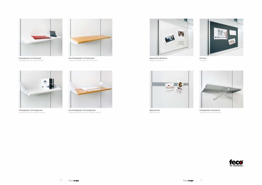 Pagina 5 - Prezentarea compartimentarii biroului cu pereti din sticla FECO FecoOrga Catalog, brosura...