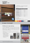 Usa rapida interioara  NOVOFERM - Heavy Indoor