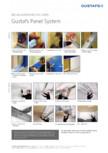 Instructiuni de montaj pentru panouri fonoabsorbante GUSTAFS - Gustafs