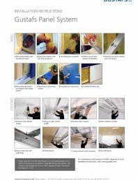 Instructiuni de montaj pentru panouri fonoabsorbante