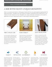 Panouri fonoabsorbante pentru pereti - sistem linear - instructiuni de montaj