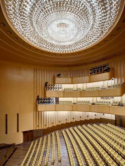 Amenajare sala spectacole cu panouri fonoabsorbante Gustafs Gustafs Panouri fonoabsorbante