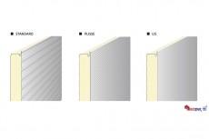 Panouri termoizolante de perete cu imbinare vizibila sau ascunsa ISOPER