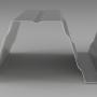 Tablă cutată apropiat0043