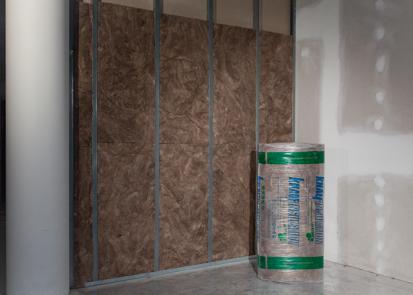 Vata minerala de sticla pentru pereti de compartimentare KNAUF INSULATION