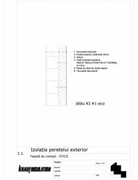 Fatada de contact- termoizolatia peretelui exterior