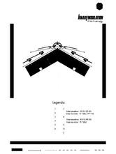 Detaliu de coama termoizolare acoperis cu astereala cu spatiu de ventilare KNAUF INSULATION
