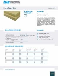 Placa rigida de vata bazaltica pentru izolarea acoperisurilor tip terasa