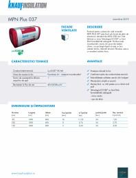 Vata minerala de sticla pentru fatade ventilate