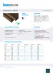 Placi din vata minerala bazaltica, cu ECOSE®, pentru fatade ventilate KNAUF INSULATION - NaturBoard VENTI