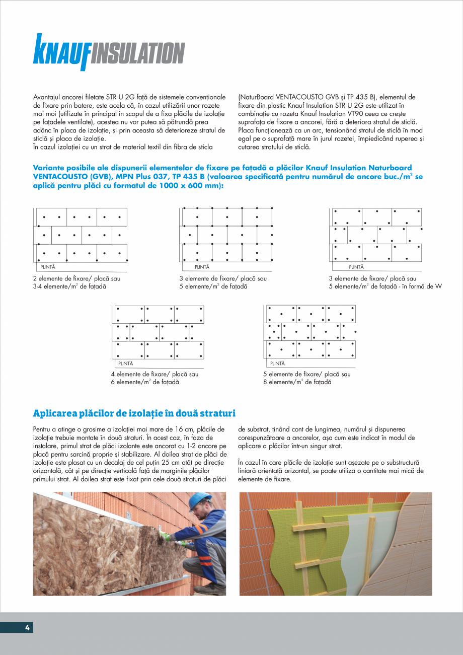 Pagina 4 - Instructiuni aplicare fatade ventilate KNAUF INSULATION NaturBoard VENTACUSTO...