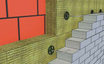 Vata minerala bazaltica pentru fatade ventilate Izolarea fatadelor ventilate cuvata bazaltica Knauf Insulation asigura cea mai buna protectie anti-incendiu, izolare acustica si permeabiltate la vapori de apa