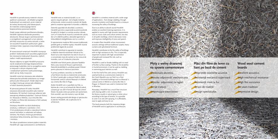 Pagina 3 - Placi din fibre de lemn cu liant pe baza de ciment - Heraklith KNAUF INSULATION Catalog, ...