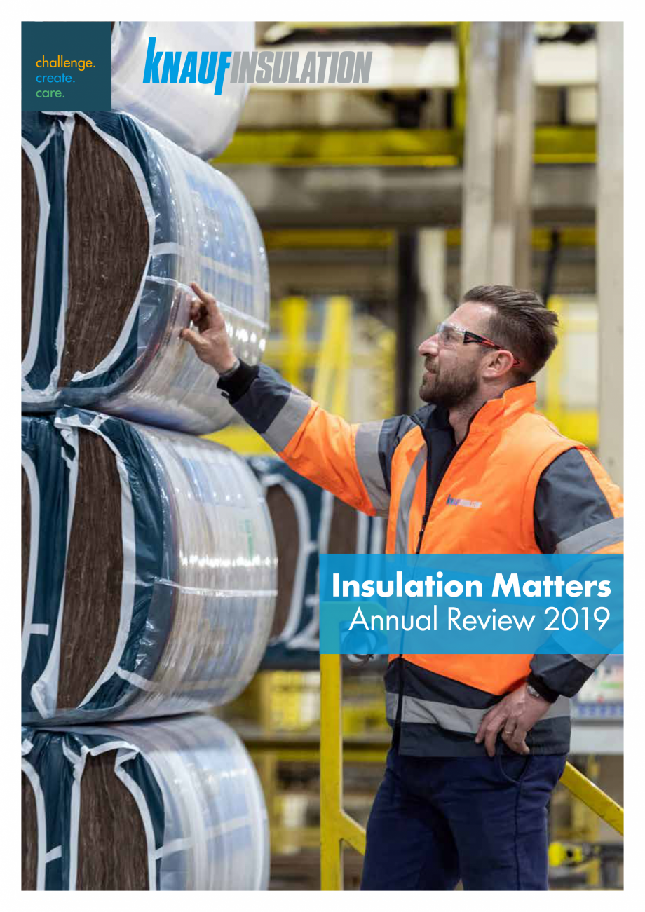 Pagina 1 - Raport de sustenabilitate 2019 KNAUF INSULATION Catalog, brosura Engleza Insulation...