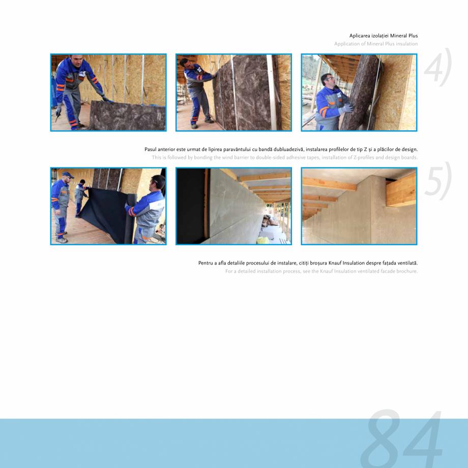 Pagina 81 - Fatade ventilate si pereti cortina KNAUF INSULATION Catalog, brosura Engleza, Romana