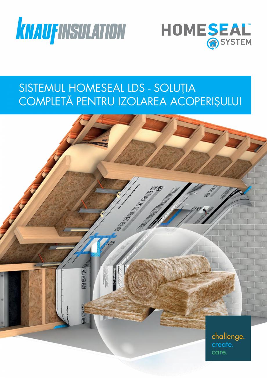 Pagina 1 - Sistemul Complet pentru Izolarea Acoperisului KNAUF INSULATION Catalog, brosura Romana...