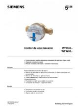 Contor de apa mecanic WFK30/WFW30 SIEMENS