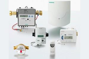 Distributie optimizata a costurilor in functie de consumul real Sistemul SIEMECA este alcatuit din aparate de masurare (a caldurii, contor de apa, distribuitor si transformator de semnal) si noduri de comunicatii.