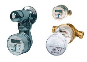 Contoare si apometre pentru apa calda si apa rece Contoarele de apa SIEMENS sunt disponibile in versiuni pentru apa rece si apa calda. Puteti alege apometrul in functie de debitul masurat cu montare pe ventil si bateria din baie.