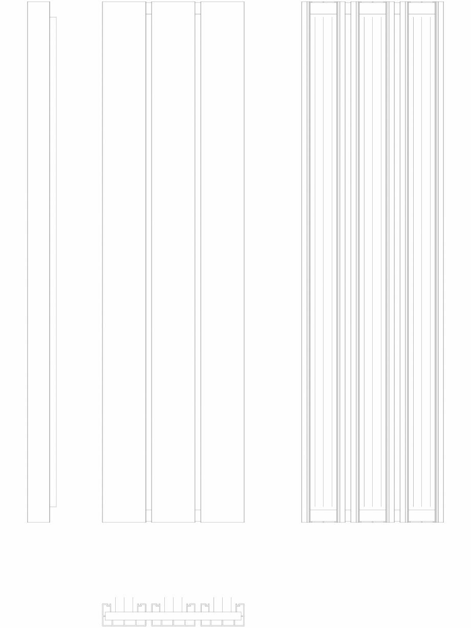 Pagina 1 - CAD-DWG Calorifer decorativ BEAMS 1800x490 - 2D VASCO Detaliu de produs