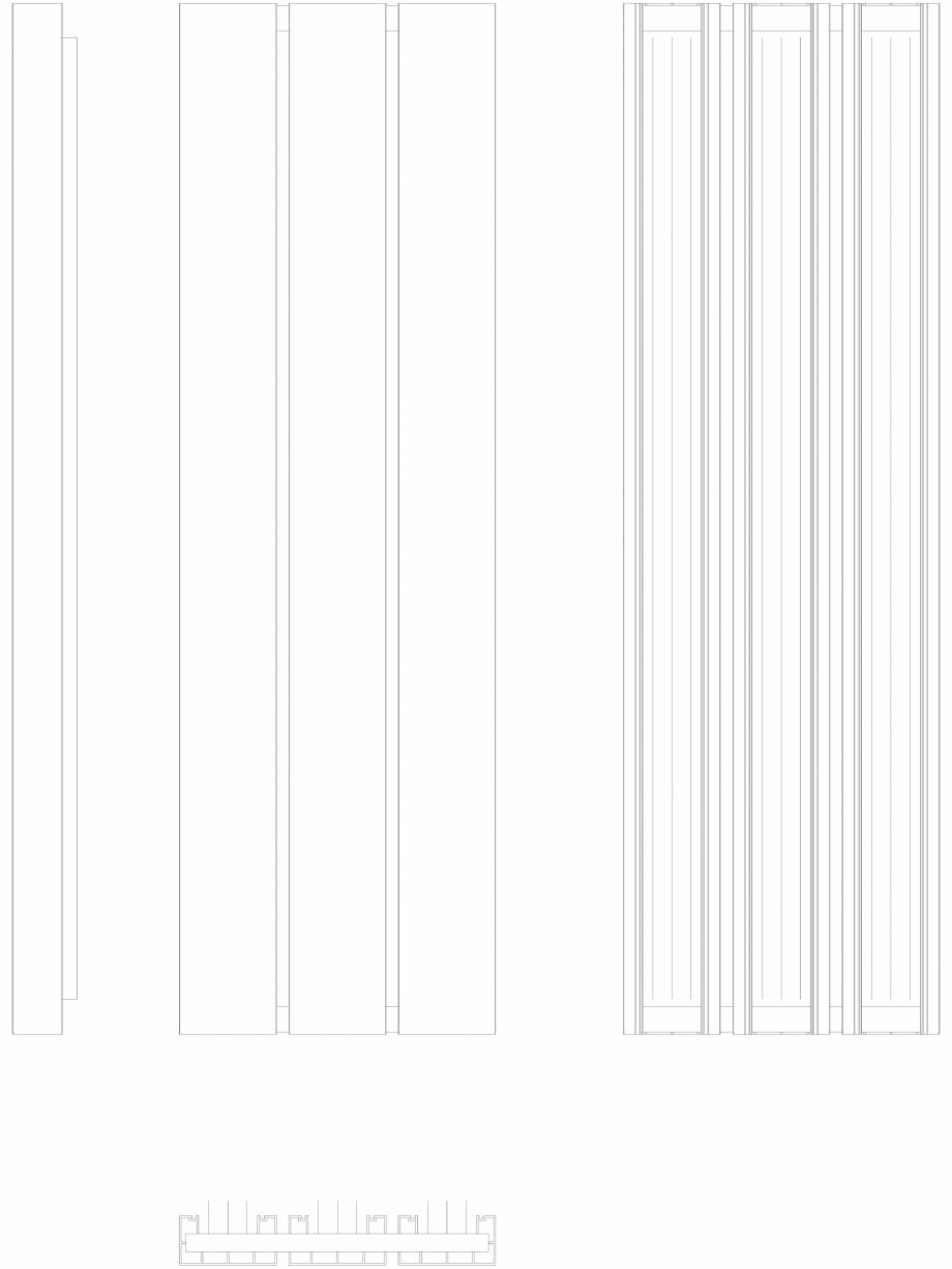 Pagina 1 - CAD-DWG Calorifer decorativ BEAMS 1600x490 - 2D VASCO Detaliu de produs