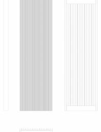 Calorifer decorativ BRYCE PLUS 1800x525 - 2D