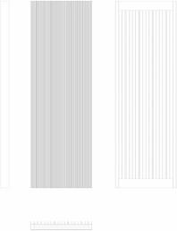 Calorifer decorativ BRYCE PLUS 1600x525 - 2D
