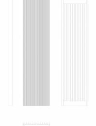 Calorifer decorativ BRYCE PLUS 1800x450 - 2D