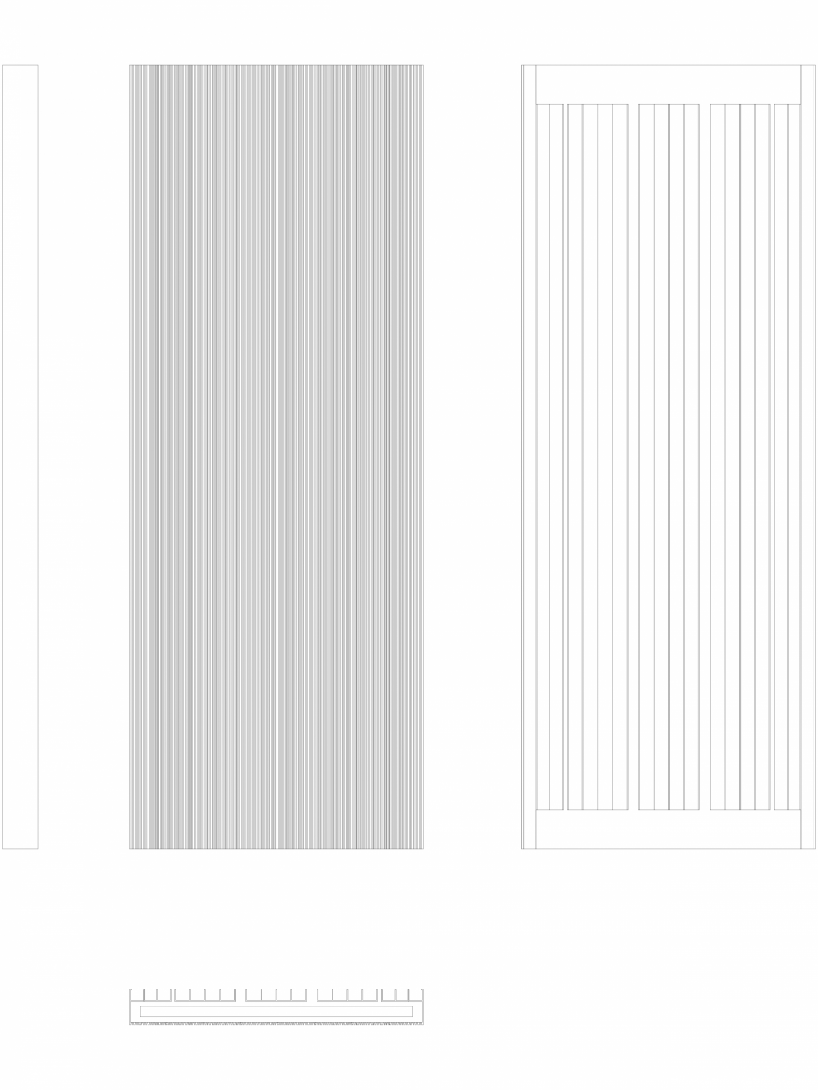 Pagina 1 - CAD-DWG Calorifer decorativ BRYCE PLUS 1600x600 - 2D VASCO Detaliu de produs BRYCE...