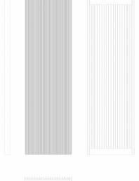 Calorifer decorativ BRYCE PLUS 2000x600 - 2D