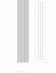 Calorifer decorativ BRYCE PLUS 2000x375 - 2D