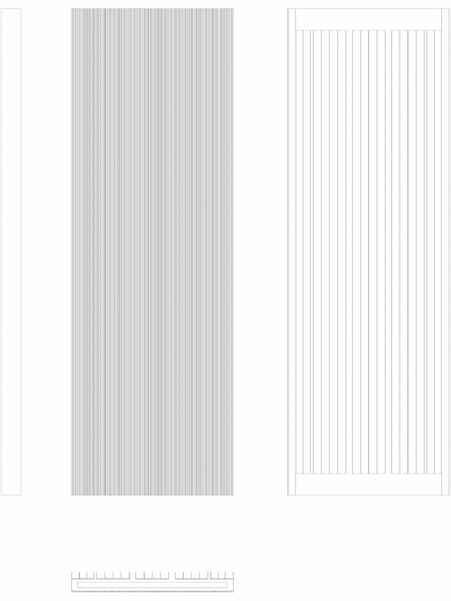 Pagina 1 - CAD-DWG Calorifer decorativ BRYCE PLUS 1800x600 - 2D VASCO Detaliu de produs BRYCE...