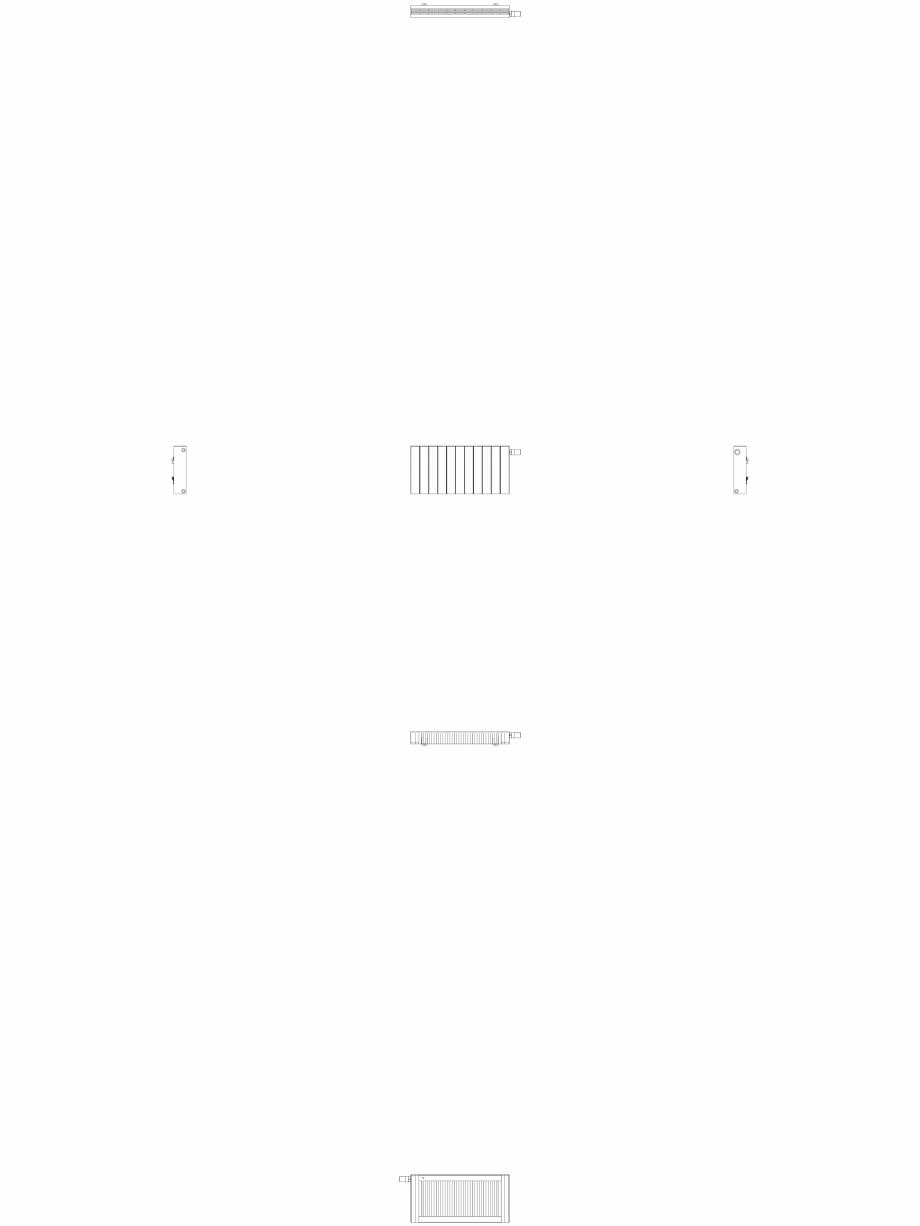 Pagina 1 - CAD-DWG Calorifer decorativ ZAROS H100 400x825 - 2D VASCO Detaliu de produs