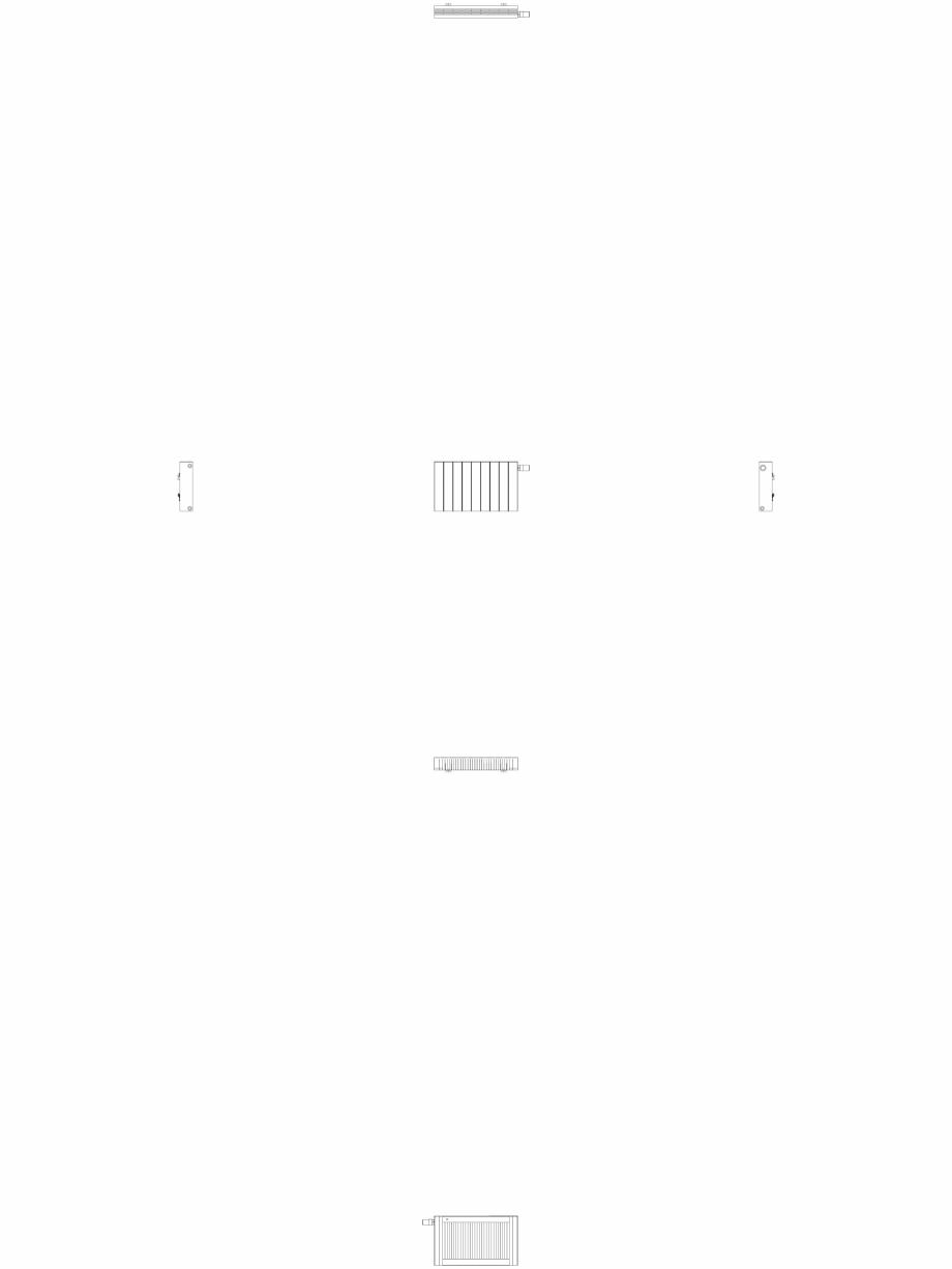 Pagina 1 - CAD-DWG Calorifer decorativ ZAROS H100 400x675 - 2D VASCO Detaliu de produs