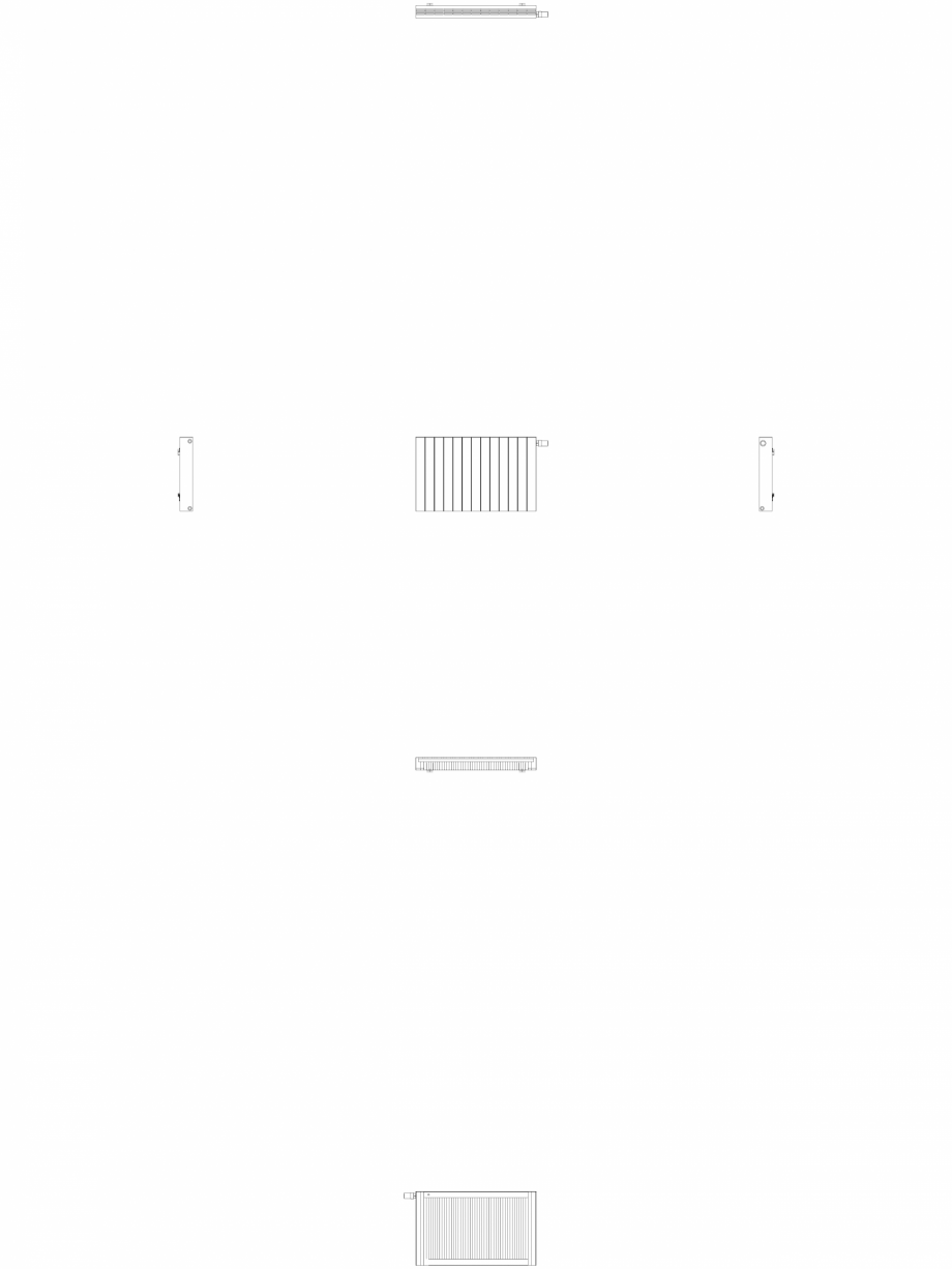 Pagina 1 - CAD-DWG Calorifer decorativ ZAROS H100 600x975 - 2D VASCO Detaliu de produs