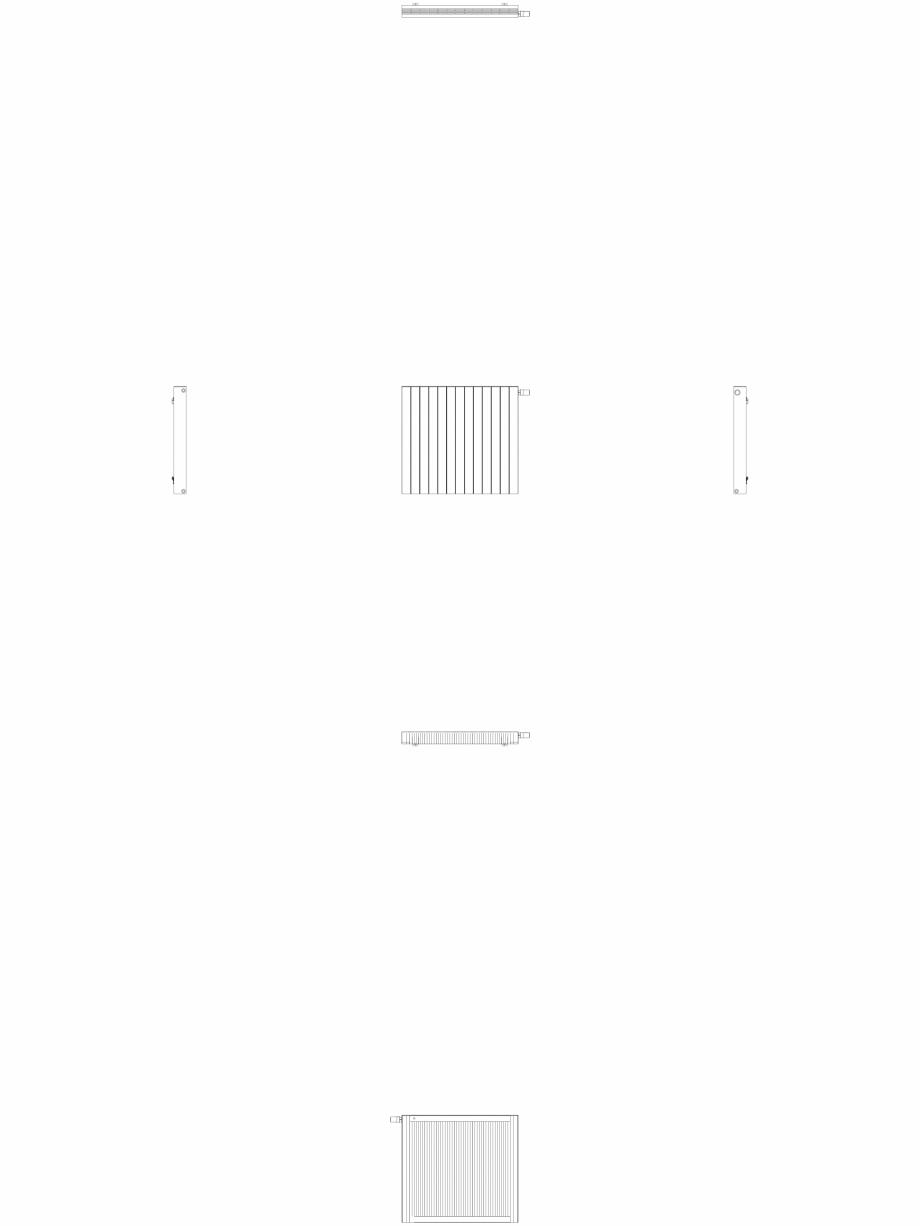 Pagina 1 - CAD-DWG Calorifer decorativ ZAROS H100 900x975 - 2D VASCO Detaliu de produs